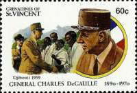 [The 100th Anniversary of the Birth of Charles de Gaulle, 1890-1970, Typ ACD]