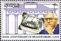 [The 200th Anniversary of the Brandenburg Gate, Typ ACG]