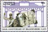 [The 200th Anniversary of the Brandenburg Gate, Typ ACI]