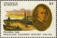 [The 200th Anniversary of the Death of Wolfgang Amadeus Mozart, 1756-1791, Typ ACM]