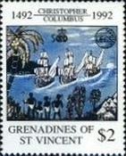 [The 500th Anniversary of Discovery of America by Columbus - Organization of East Caribbean States, Typ AGK]