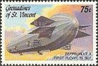 [The 75th Anniversary of the Death of Count Ferdinand Zeppelin, Typ AIA]