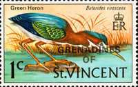 [Stamps of St. Vincent Overprinted