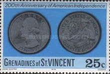 [The 200th Anniversary of American Revolution, Typ CA]