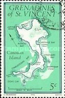 [Maps of Grenadines of St. Vincent - Canouan Island, Typ CE]