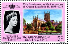 [The 25th Anniversary of Coronation - British Cathedrals, Typ DY]