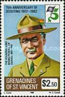[The 75th Anniversary of Boy Scout Movement, Typ HJ]
