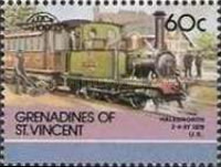[Leaders of the World - Railway Locomotives, Typ PB]