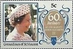 [The 60th Anniversary of the Birth of Queen Elizabeth II, Typ PM]