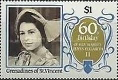 [The 60th Anniversary of the Birth of Queen Elizabeth II, Typ PN]