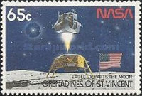 [The 20th Anniversary of First Manned Landing on Moon, Typ WG]