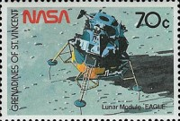 [The 20th Anniversary of First Manned Landing on Moon, Typ WH]