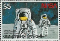 [The 20th Anniversary of First Manned Landing on Moon, Typ WK]