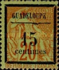 [French Colonies - General Issues No.51 Surcharged, Typ B1]