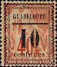 [French Colonies - General Issues Stamps No.45,51,54 & 56 Surcharged, Typ C1]