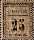 [French Colonies - General Issues Stamps No.45,51,54 & 56 Surcharged, Typ C3]