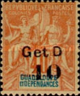 [No. 35-39 Surcharged & Overprinted