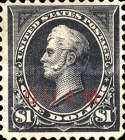 [USA Postage Stamps Overprinted, type A12]