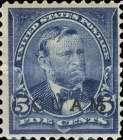 [USA Postage Stamps Overprinted, type A5]