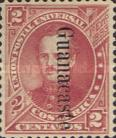 [Costa Rica Postage Stamps No.10-13 Overprinted