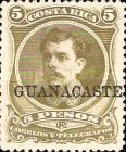 [Costa Rica Postage Stampe No.19-27 Overprinted