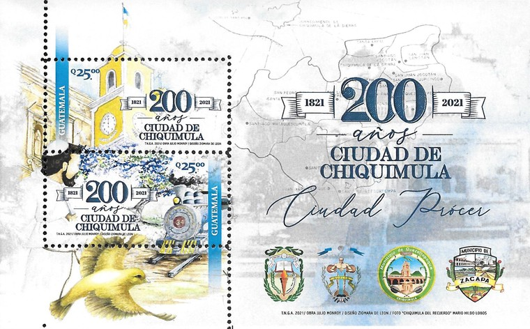 [The 200th Anniversary of Chiquimula City, type ]