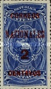 """[Issues of 1898 Overprinted """"CORREOS NACIONALES"""" and Surcharged, type AC2]"""