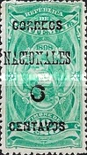 """[Issues of 1898 Overprinted """"CORREOS NACIONALES"""" and Surcharged, type AC8]"""