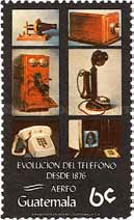 [Airmail - The 100th Anniversary of the Telephone, type AFI]