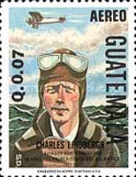 [Airmail - The 50th Anniversary of First Solo Atlantic Flight, type AFJ]