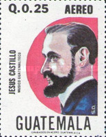 [Airmail - The 100th Anniversary of the Birth of Jesues Castillo, 1877-1948, type AFL]