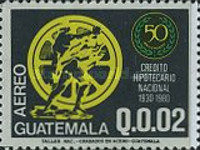 [Airmail - The 50th Anniversary of National Mortgage Bank, type AFY]