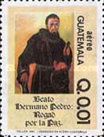 [Airmail - Blessed Brother Pedro, type AGB]