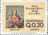 [Airmail - Blessed Brother Pedro, type AGC]