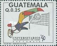 [The 6th Central American and Caribbean University Games, type AJG]