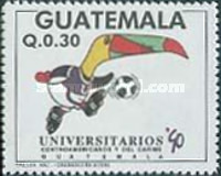 [The 6th Central American and Caribbean University Games, type AJH]