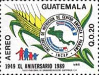 [Airmail - The 40th Anniversary of Central America and Panama Nutrition Institute, type AJM]