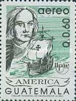 [Airmail - America - The 500th Anniversary of Discovery of America by Columbus, type AJU]
