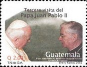 [The 3rd Visit of Pope John Paul II and the 12th Anniversary Canonisation of Hermano Pedro, Monk and Humanitarian, type ALU]