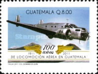 [The 100th Anniversary of the First Flight in Guatemala, type ASX]