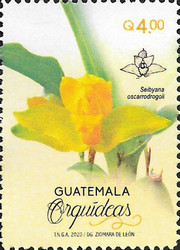 [Flowers - Orchids of Guatemala, type AWG]