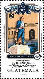 [The 200th Anniversary of the Independence of Guatemala, type AWQ]