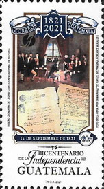 [The 200th Anniversary of the Independence of Guatemala, type AWT]