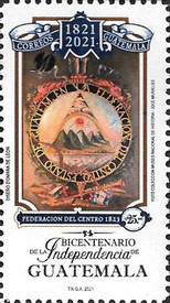 [The 200th Anniversary of the Independence of Guatemala, type AWU]