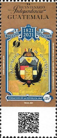 [The 200th Anniversary of the Independence of Guatemala, type AWX]