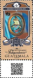[The 200th Anniversary of the Independence of Guatemala, type AWY]