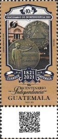 [The 200th Anniversary of the Independence of Guatemala, type AXC]