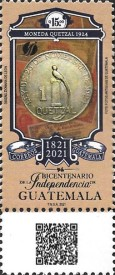 [The 200th Anniversary of the Independence of Guatemala, type AXD]