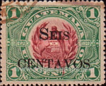 [National Symbols - Issues of 1902/1907 Overprinted and Surcharged, type BS1]