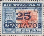 [National Symbols - Stamps of 1902-1921 With Blue Surcharge, type CG1]
